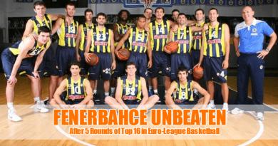Fenerbahce Remain Unbeaten