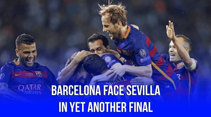 semifinal of Copa del Rey Barcelona