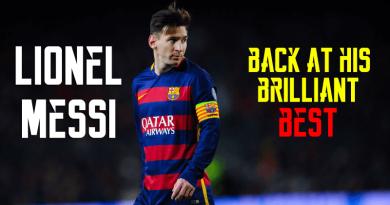Messi back
