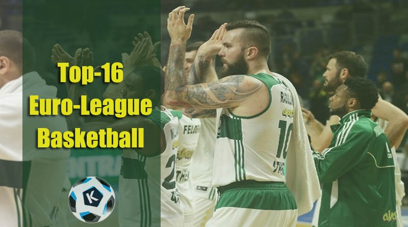 Top16 Euro-League Basketball