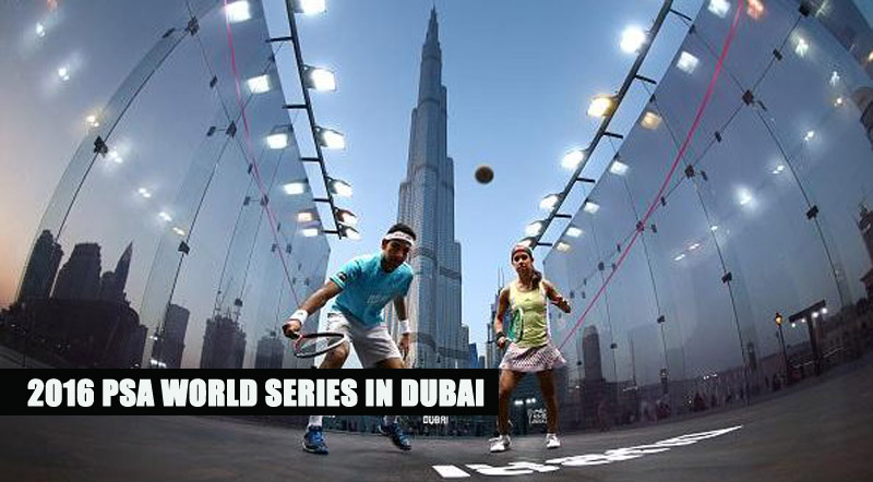 PSA World Series 2016