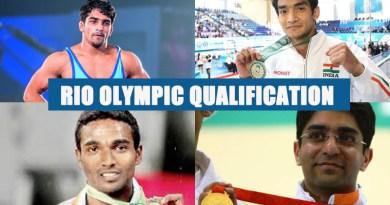 Rio Olympic Qualification