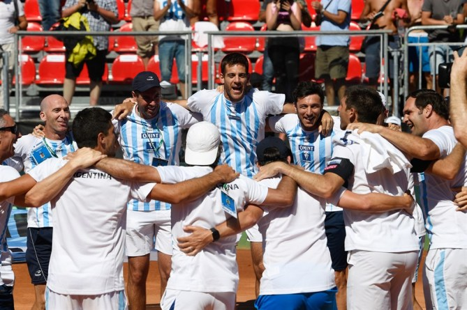 Hero on Last Day of Davis Cup World-Group Matches