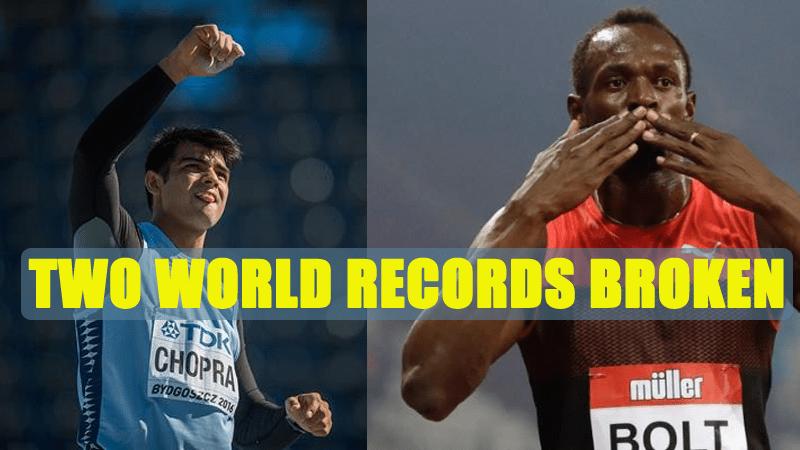 India's Neeraj Chopra Breaks U-20 Javelin World Record at Poland Bolt Wins 200 in London