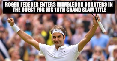Roger Federer Enters Wimbledon