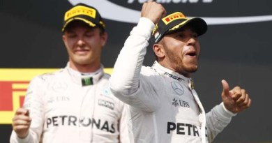 Rosberg at Hungarian GP