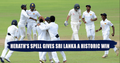 Sri Lanka a historic win