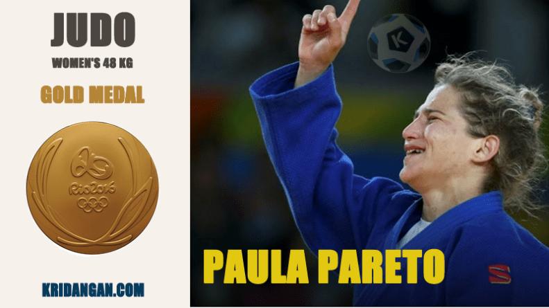 Gold medalist-Paula Pareto