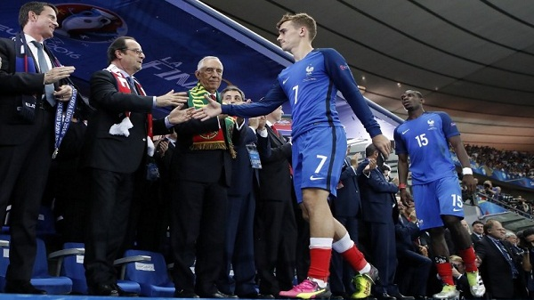 Griezmann best player Euro2016