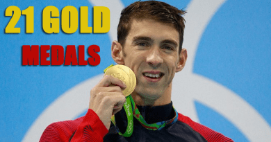 Michael Phelps Wins His 21st Gold