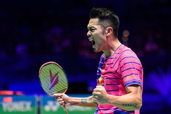 China's Lin Dan and Malaysia's Lee Chong Wei playing