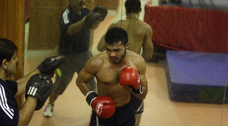 Boxer Vikas Krishan