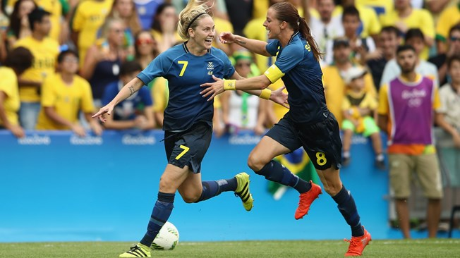 women football SF rio sweden
