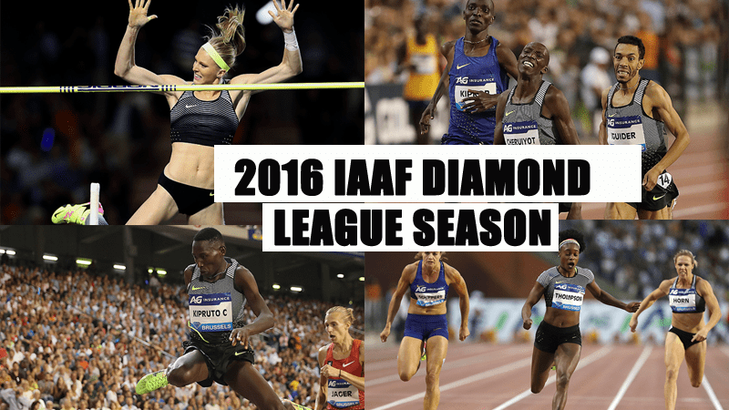 2016 Diamond Season Ends with the Coronation of 16 More Athletics Champions at Brussels