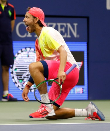 Rafael Nadal was taken to five sets by 24th seed Lucas Pouille
