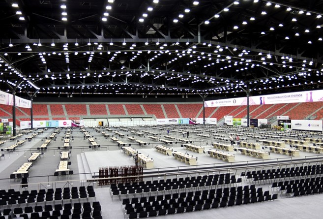 This is what the playing hall looks like   Photo official site