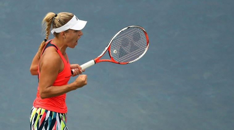 Progress in 2016 US Open kerber