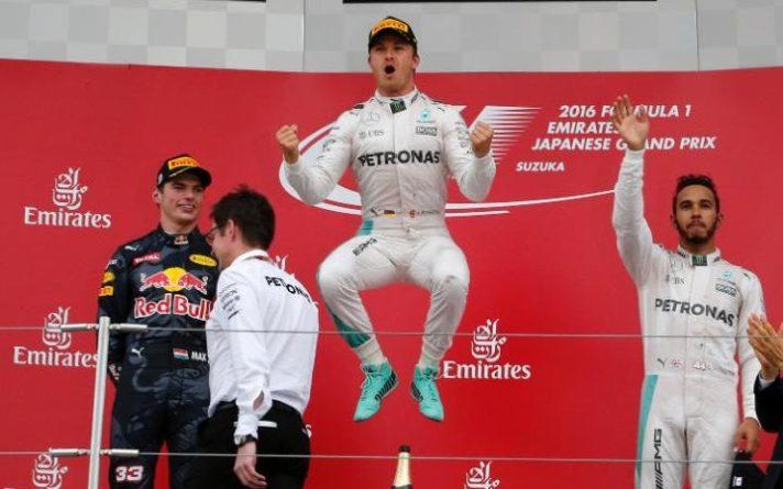 Nico Rosberg record, Formula 1