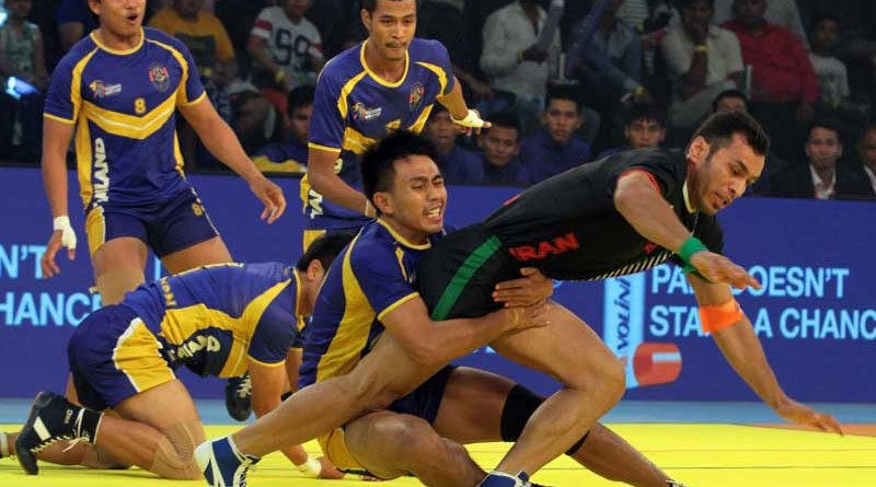 Iran thrashes Thailand