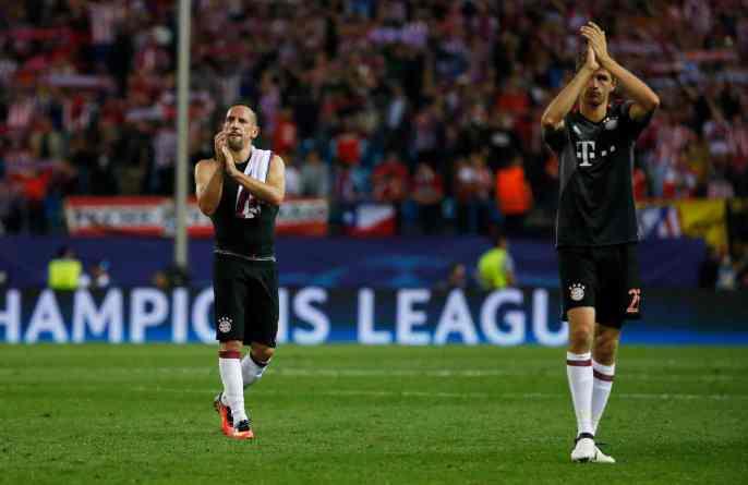 Atletico Madrid defeat Bavarians