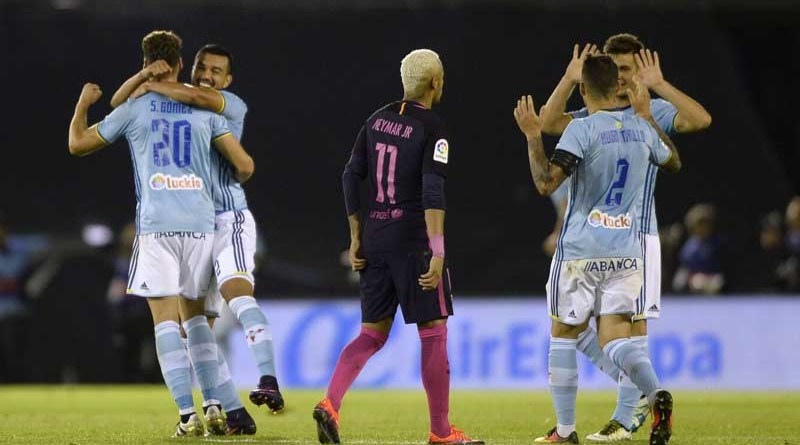 Celta get the better of the Barça once again
