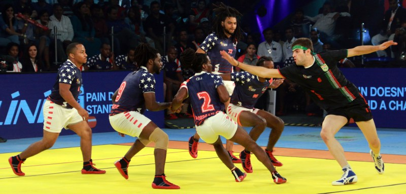 Kabaddi World Cup Iran vs USA