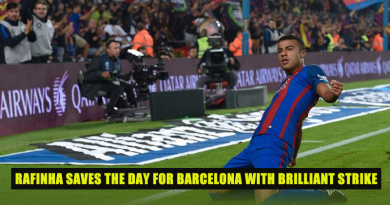 Rafinha saves the day for Barcelona with brilliant strike