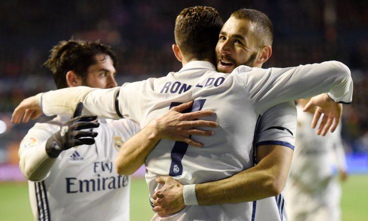 Real Madrid retain top spot in La Liga