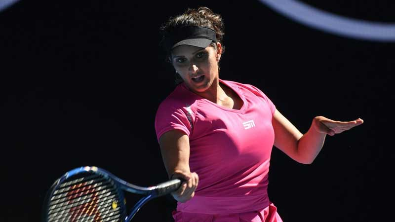 Sania Mirza and Barbora Strycova reached to Miami Open Semi-finals