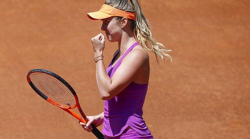 Ukrainian Elina Svitolina stopped Simona Halep storm in Rome final
