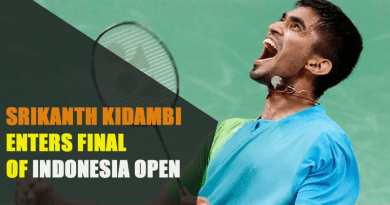 SRIKANTH KIDAMBI ENTERS FINAL OF INDONESIA OPEN