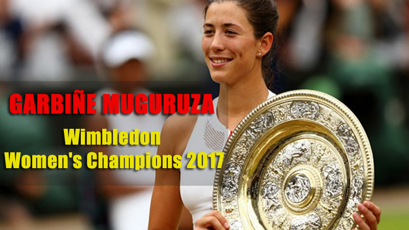Garbine Muguruza Beats Venus Williams to Win Wimbledon Title