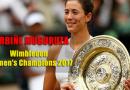 Garbine Muguruza Beats Venus Williams to Win Wimbledon Title