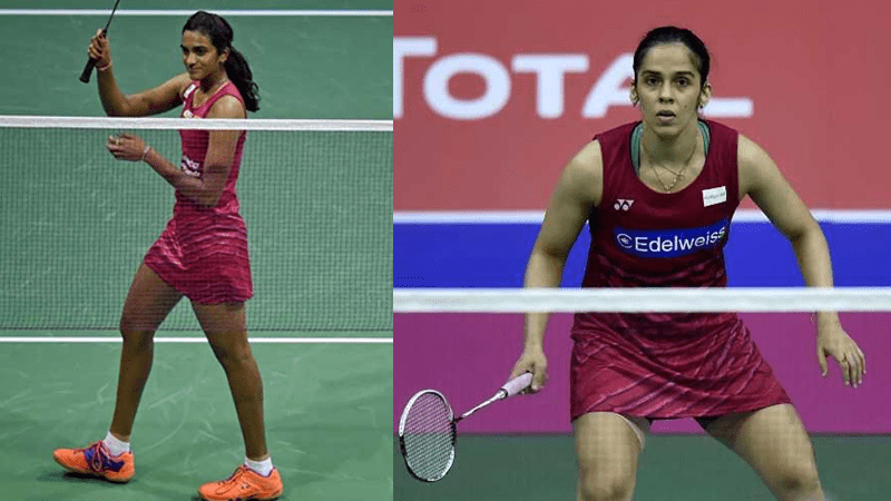 Sindhu & Saina Enters World Badminton Championships Semis