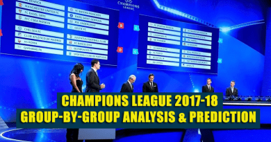group analysis UEFA 2017-18