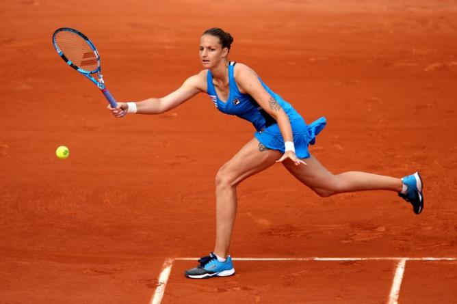 Karolina Pliskova French open