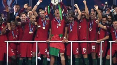 European champions Portugal