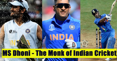 MS Dhoni - The Monk of Indian Cricket msd
