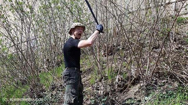 Frühjahrsputz Kriebsteinfreunde