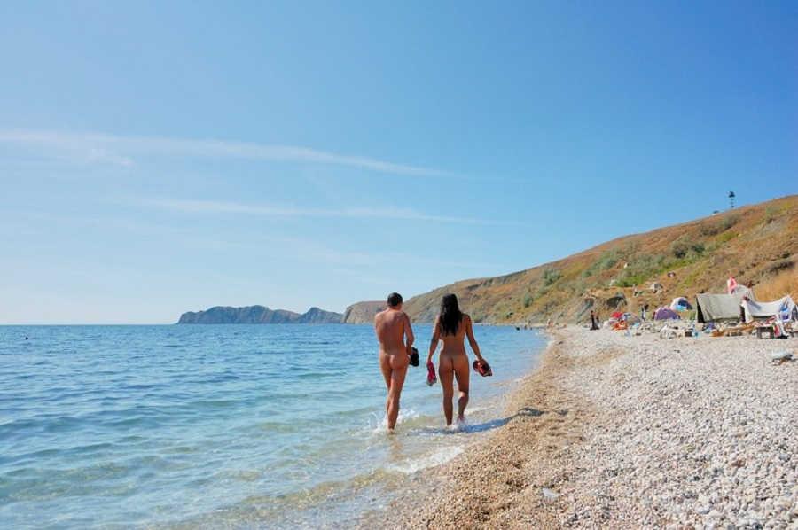 Нудистский рай в Крыму   Лучшие нудистские пляжи Крыма
