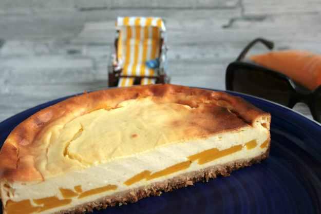 Käsekuchen Mango Kokos Calendar of Incredients Cheesecake