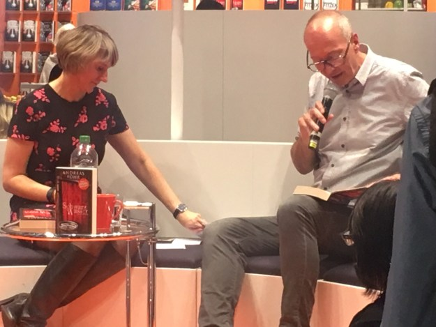 Andreas Föhr Schwarzwasser DroemerKnaur FBM Buchmesse Frankfurt krimiundkeks