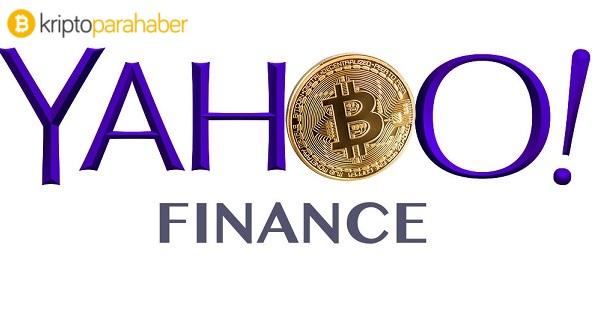 Yahoo! Finance'nin kripto para platformunun detayları içinde en dikkat çeken kapitalizasyon grafiği