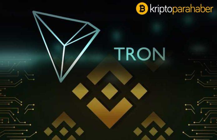 Binance Borsası TRON (TRX) ticareti için BNB işlem çiftini sunuyor
