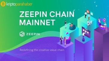 Zeepin (ZPT) kendine ait ZeeWallet cüzdanı bulunuyor