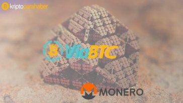 ViaBTC, Monero için yeni maden havuzu açıyor