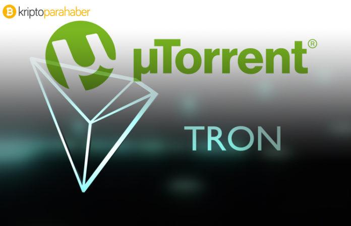 TRON µTorrent Web'i başlatıyor