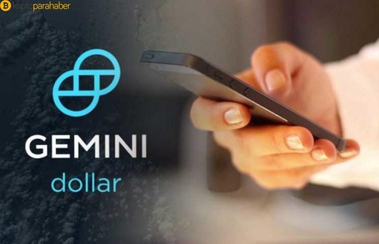 Gemini'nin yeni stablecoin Gemini Dollar için dondurma seçeneği var
