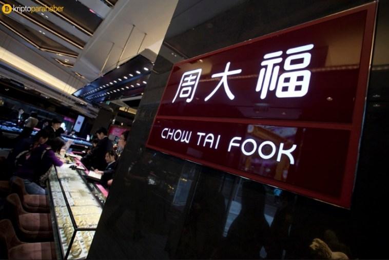 Chow Tai Fook mücevher grubu Blockchain kullanarak elmasları izleyecek