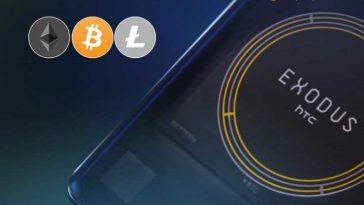 HTC Exodus 1 telefonu artık Litecoin desteğine sahip
